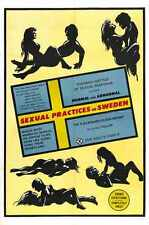 Sexual Practices In Sweden Poster 01 A3 Box Canvas Print