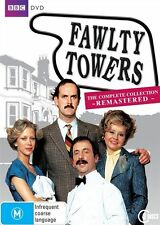Fawlty Towers - The Complete Remastered (DVD, 2009, 3-Disc Set)  LIKE NEW... R 2
