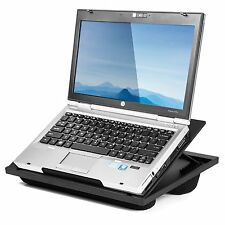 Halter Lap Desk Laptop Stand with 8 Adjustable Angles Dual Microbead Cushions