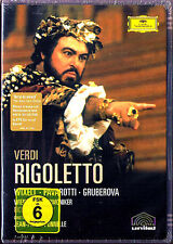 DVD VERDI RIGOLETTO Edita GRUBEROVA Luciano PAVAROTTI WIXELL FURLANNETTO CHAILLY