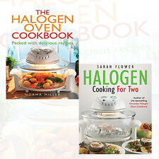 Halogen Cooking Collection 2 Books Set,The Halogen Oven Cookbook,For Two, NEW PB