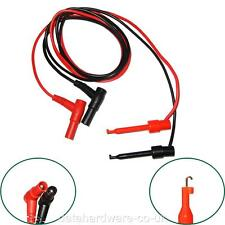 MULTIMETER LEAD LARGE PROBE TO TEST HOOK CLIP