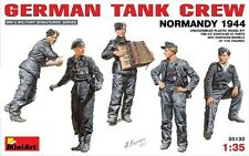 1/35 MiniArt  35132 - German Tank Crew, Normandy 1944 (5 Figures)  - Plastic Kit