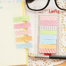 160 Pages Cute Note Notebook Craft Decor Post it Sticky Memo Flag Stickers