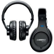 Shure SRH440 Professional Studio Headphones with Case Cable & Jack Adapter