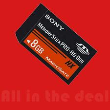 Sony 8GB MS Memory Stick Pro Duo Pro-HG HX Series 50MB/s  MSPD 8 GB