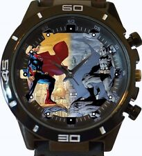 Superman Vs Batman Comic Style New Gt Series Sports Unisex Gift Watch
