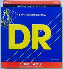 DR NMR6-30 SunBeams BASS Guitar Strings  6-string medium gauge 30-125