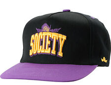 FLY SOCIETY SNAPBACK BLACK PURPLE HAT SKATEBOARD CAP TERRY KENNEDY MONEY CASH $