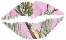 "Pink RealTree Camo Lips Vinyl 5"" Decal Truck/Car Laptop or Cell Phone"