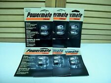TWELVE! COLEMAN Powermate XENON Flashlight BULBS 4.7v  XPR13 NEW in SEALED Packs
