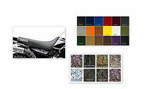 YAMAHA XT225 Seat Cover XT 225 Universal Fit Dirt Bike (YAMAHA SIDE STENCILS)