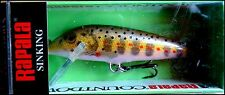 EXTREMELY RARE RAPALA COUNTDOWN CD 7 cm SPECIAL JTR2 (Juvenile Trout 2) color