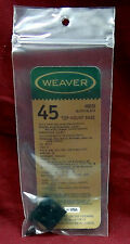 Weaver No. 48045 Top Mount Base, O3A3 Rifles and Others