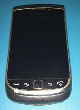 BlackBerry Torch 9810 Silver ATT White spot on LCD - Good Condition - Read below