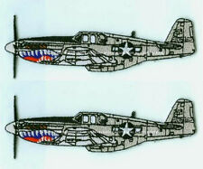 TRUE TO ORIGINAL WWII FLYING TIGERS AVG WARBIRDS: North American P-51 Mustang
