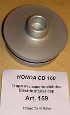 Honda CB160 Cappellini #159 billet crank case plug when starter motor is removed