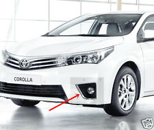 CHROME LINE FOG LAMP SPOT COVER TRIM FOR NEW TOYOTA COROLLA ALTIS 2014 SEDAN 15
