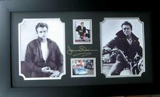 Engraved James Dean Signature With Real Swatch of Clothing Lot 2038176
