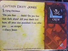 Wizkids Pirates of the Caribbean #057 Captain Davy Jones Pocketmodel CSG