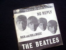 BEATLES: NO REPLY / ROCK and ROLLMUSIC~ORIG. SINGLE + COVER~1965~DUTCH EDITION