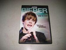 Justin Bieber: A Rise to Fame (DVD, 2011)