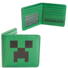 Minecraft Creeper WALLET real leather  - Official - Perfect gift