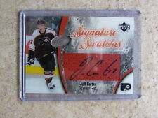 05-06 UD ICE Signature Swatches JEFF CARTER Rookie RC