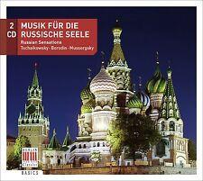 RUSSISCHE IMPRESSIONEN/RUSSIAN SENSATIONS 2 CD NEU VARIOUS