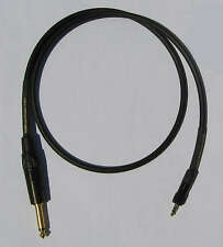 "UpScale Sennheiser Wireless Canare GS-6 Locking 1/8"" to  1/4"" Cable - Black 3FT"