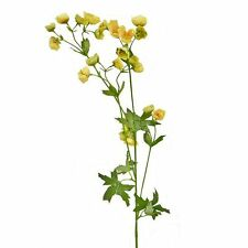 80cm Artificial Buttercup Spray - Decorative Spring and Summer Plant Flower Stem