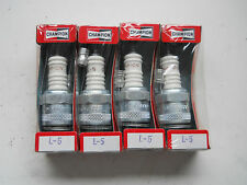 4 x L5 Spark Plugs fit Triumph TS20 T100 T110 Villiers, Velocette, BSA, MG TD