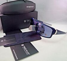 TAG HEUER RACER 2 TH 9223 406 BLUE POLARIZED SUNGLASSES WATERSPORT 70MM NEW