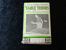C1943 Paperback 'Guide to Table Tennis' by Eric Hyde English International
