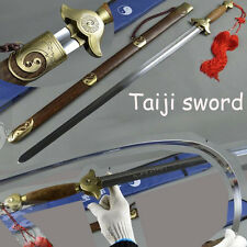Tai Ji Sword Stainless steel Wu Shu Sword Soft Chinese Sword Brass Fittings