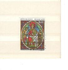 FRANCIA 2363 - VETRATA CATTEDRALE STRASBURGO  1985 - MAZZETTA DI 5 - VEDI FOTO