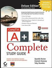 CompTIA A+ Complete Deluxe Study Guide: Exams 220-701 (Essentials) and 220-702 (