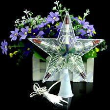 Colorful Changing Xmas Christmas Tree Star Light Party LED Lamp Decoration Gift