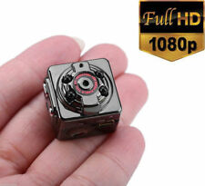 Small 1080P Full HD Night vision lens micro camera IR spy DVR recorder+8GB TF