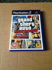 Grand Theft Auto Liberty City Stories   Playstation 2 ps2 PAL Map included