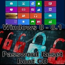 Windows Password Reset Recovery Removal - Boot CD - Windows 8 and 8.1 Unlock