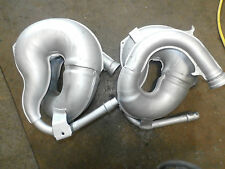 Yamaha Banshee Stock Left and Right Head Pipe Pipes Exhaust OE