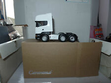 Cararama Oxford CR026 Scania 1/50 Scale Cab Dealer White for Your Code 3