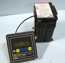 POWERLOGIC SQUARE D POWER METER 3020 PMD 32 & PM 650 POWER LOGIC METER 3020PM650