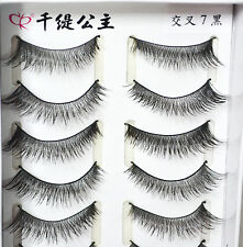 Taiwan Top Handmade SUPREME Long Thick False Eyelashes 20 Pairs #cross7