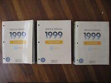 1999 Oldsmobile Intrigue Service Repair Manual 3 book set