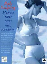 Publicité Advertising 1998  Lingerie Body Sculpting Siltex sous vetement
