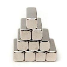 10pcs puissant 12x4x4mm N35 aimant néodyme magnet magnetique bloc rectangulaire