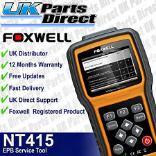 Ford Electronic Parking Brake EPB Service Tool + Engine Scan - Foxwell NT415