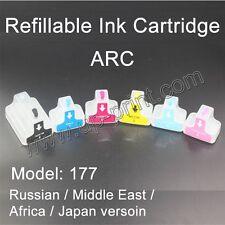HP177 Refillable ink Cartridges for Photosmart 8250 3110 D6160 D7160 D7260 C5180